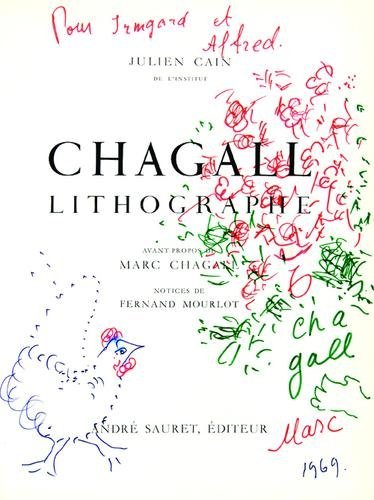 15: Marc Chagall, bouquet of flowers and chicken