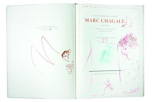 20: Marc Chagall (1887-1985) self-portrait with cresce
