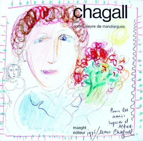 30: Marc Chagall, self-portrait, bouquet of roses