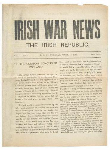 463: Ireland.- Irish War News: The Irish Republic
