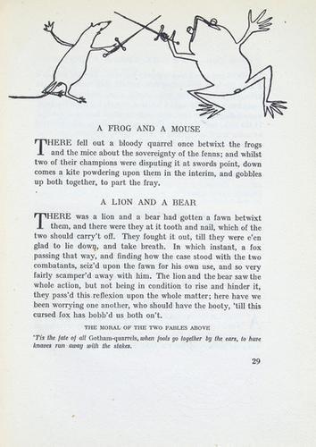 253: Calder (Alexander).- Aesop. Fables,1/595