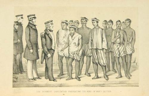 8: Baker British Forces at Rangoon 1st
