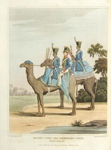 18: Fitzclarence Route India, Egypt 1st 1819