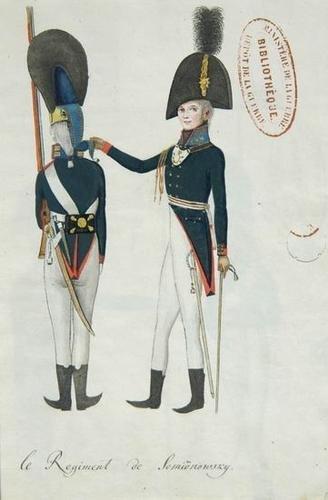 151: Uniformes Russes, 1801