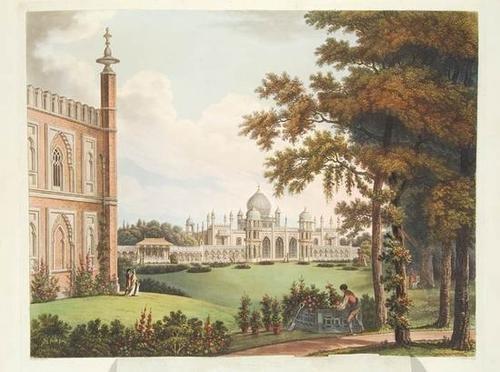 274: Repton.Designs..Pavillon at Brighton,1st,1808