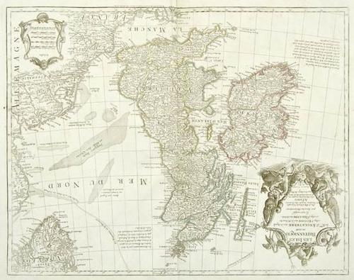 440: De l'Isle (Guillaume) Les Isles Britanniques