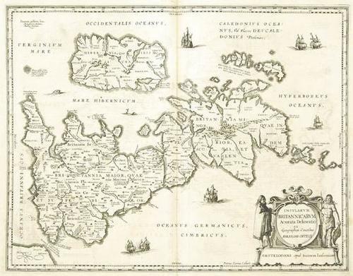 442: Jansson (Jan) Insularum Britannicarum