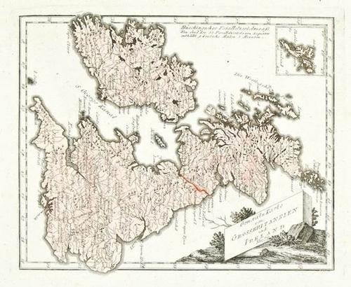 447: 4 British Isles Maps Weidner/Reilly/Blair