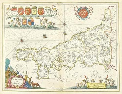 449: Jansson (Jan) Cornubia sive Cornwallia