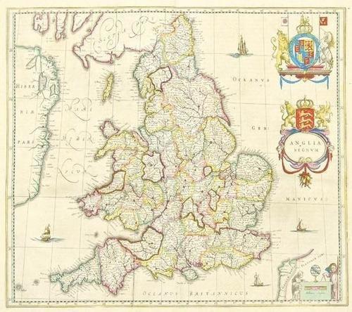 451: Blaeu (Johan) Anglia Regnum