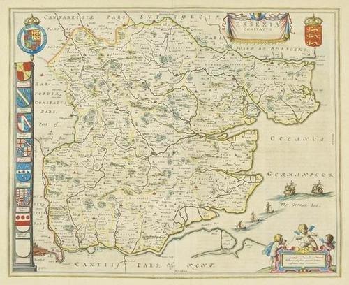 455: Blaeu (J & W) Essex and Cambridgeshire