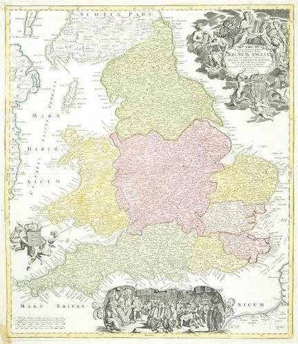 457: Homann (J.B.) England in Saxon times