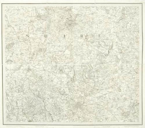 461: Ordnance Survey. Central England