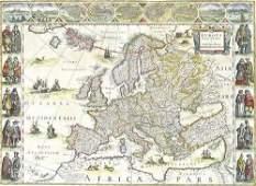 528 Blaeu Willem Europa recens descripta