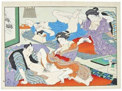 82: Japanese School. a shunga book