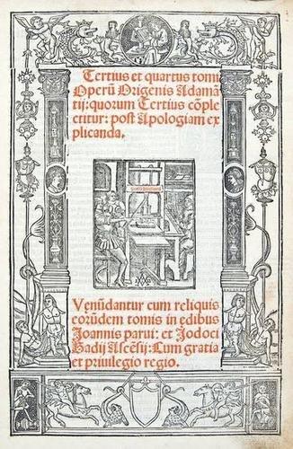11: Origines Adamantius. Tomus Operum