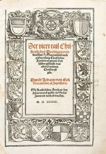 17: Eck (Johann von) Der Viert Tail  1534