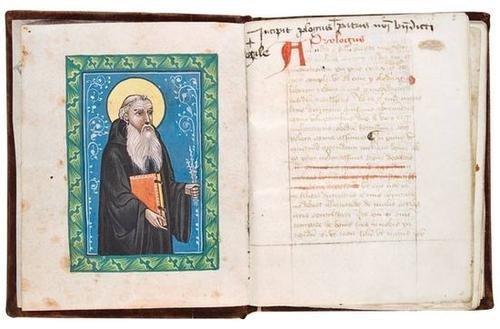 125: Monastic Rules, c, 1380
