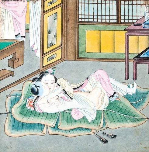 538: Japanese School. a set of 12 erotic scenes