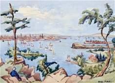 674: Field (John) group of views in North America