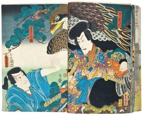 687: Kunisada (Toyokuni III) kabuki album