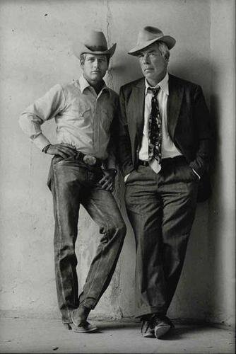 9: Terry O'Neill (b.1938) paul newman and lee marvin