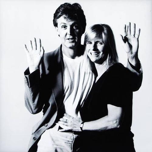 18: David Bailey (b.1938) paul & linda mccartney, 1985