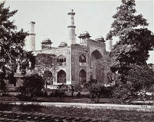 267: Samuel Bourne (1834-1912) albumen prints of indian