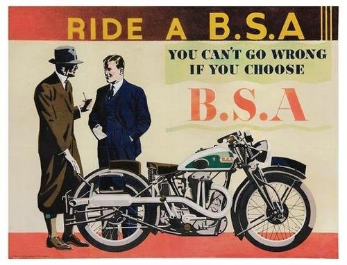 7: ANONYMOUS, Ride a B.S.A.