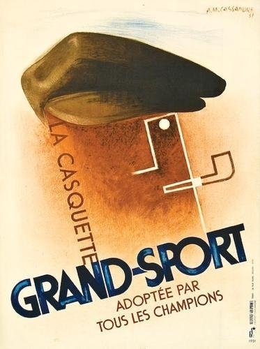 75: CASSANDRE, Adolphe Mouron, Grand Sport