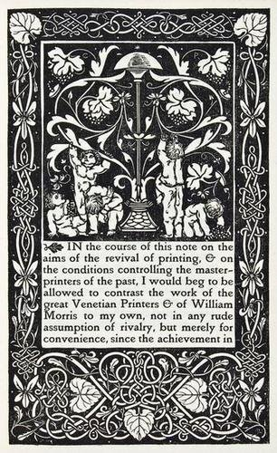 3: Ricketts.Defence..Revival of Printing,Vale,1899