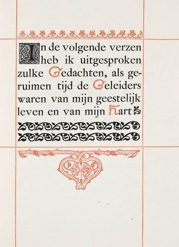 5: Van der Schalk.Sonnetten..,ltd,Am'dam,1895