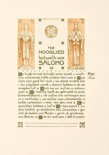 8: Hooglied van Salomo,ill.vdLeck/Klaarhamer,1905