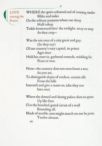 14: Browning.Men & Women,2v,callig.EJohnston,Doves