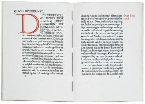 21: van Royen.Over Boekkunst en de Zilverdistel,1916