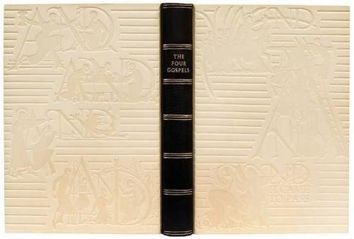 93: Four Gospels,1/500,ill.Gill,JFMowery b'g,GCP