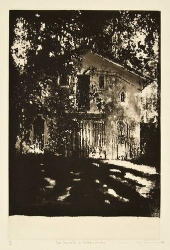 1: Norman Ackroyd (b.1938) chateau cheval blanc