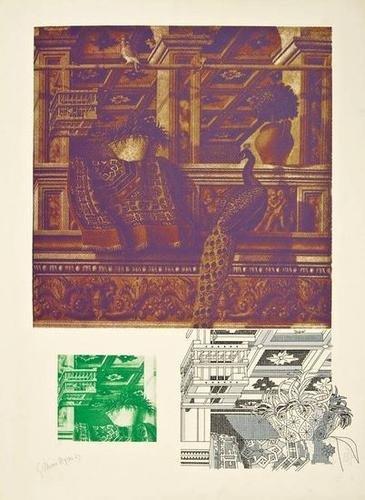 7: Gillian Ayres (b. 1930) crivelli's room ii