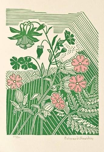 10: Edward Bawden, campions and columbine
