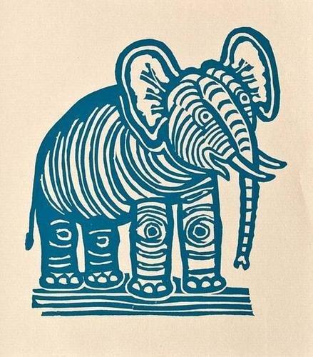 12: Edward Bawden (1903-1989) the elephant