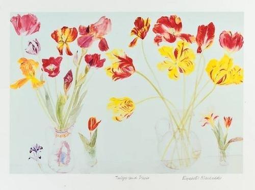 16: Elizabeth Blackadder (b.1931) lilies