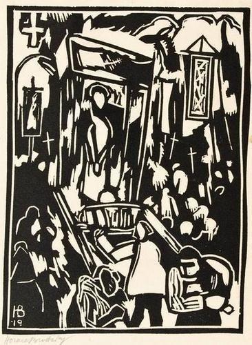 24: Horace Brodzky (1885-1969) fiesta