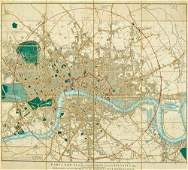 303 Cary J New Plan of London and its Vicinity