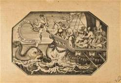 134 a mixed group of 17th and 18th century prints