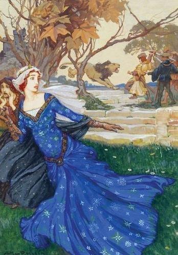 298: Rackham (Arthur) Bruenor flung his sword high abov
