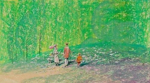 """384: [Unknown Artist] """"Walking Through a Field"""""""