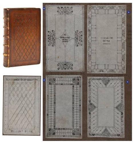 16: Cockerell (Patience) Binding pattern book,