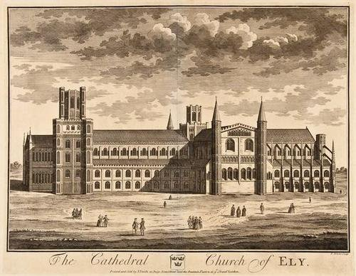 6: Kip (Joannes) & others. a group of cathedrals