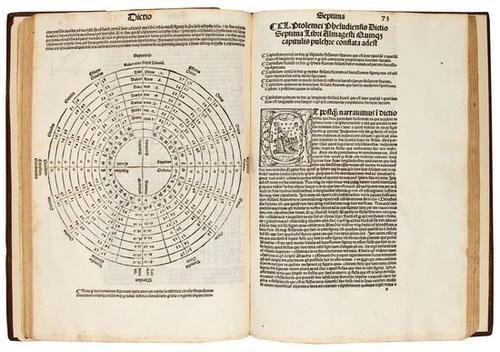 410: Ptolomaeus (Claudius) Almagestu. 1515