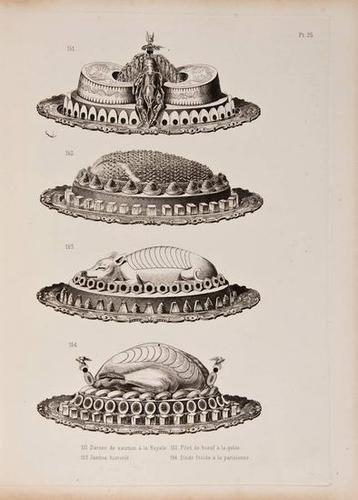 11: Dubois (Urbain) Artistic Cookery 1887